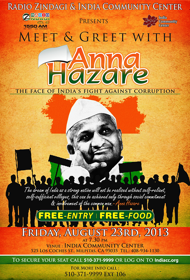 Meet and Great with Anna Hazare