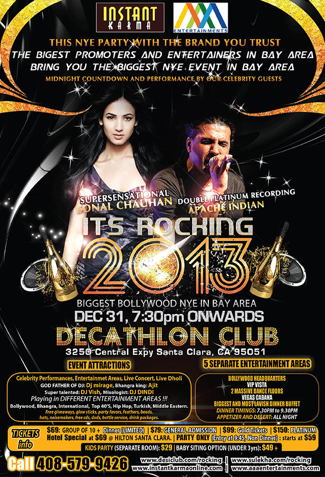 Its Rocking 2013 NYE