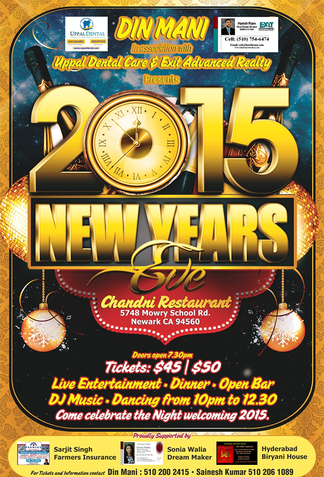 2015 New years Eve
