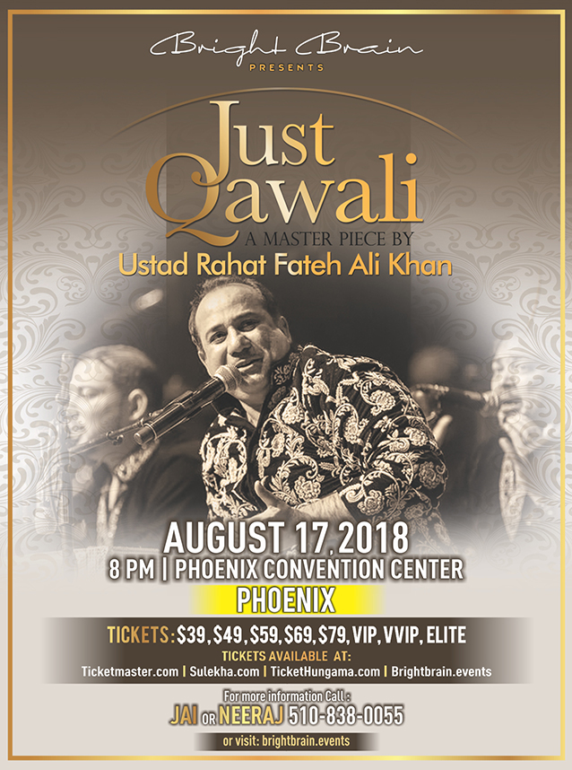 Just Qawali Tour by Rahat Fateh Ali Khan