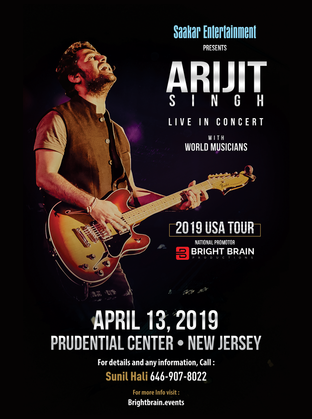 ARIJIT SINGH LIVE IN CONCERT - NEW JERSEY